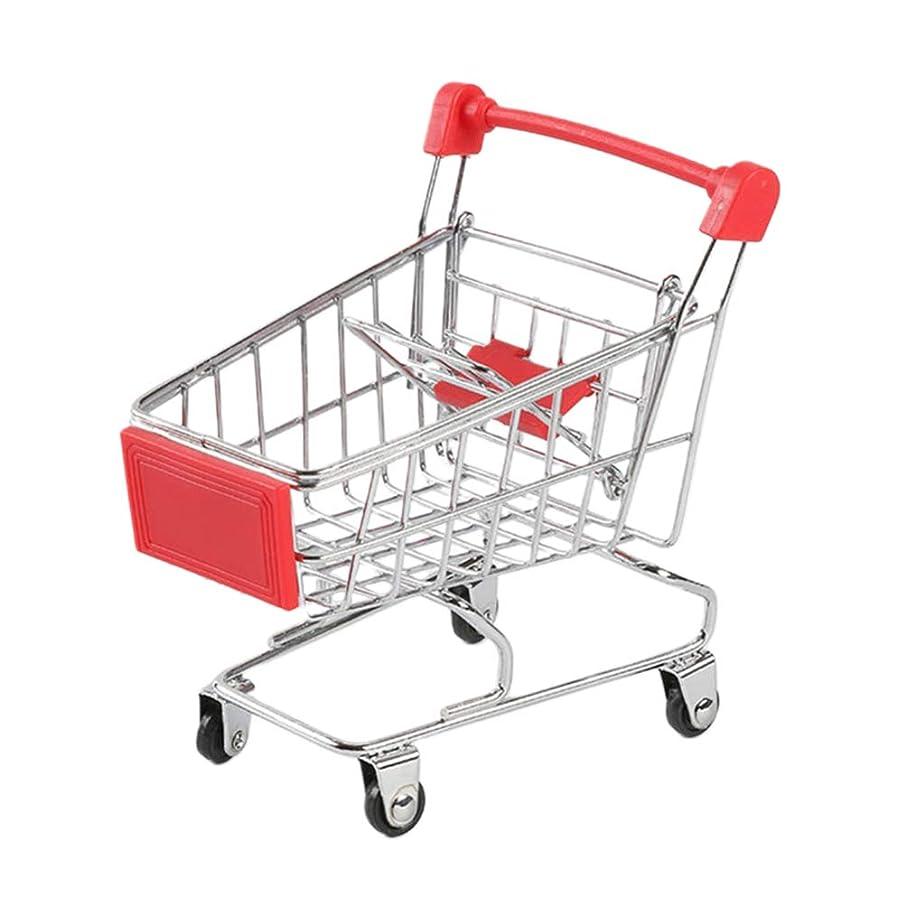 燃料観察先生NUOBESTY ミニショッピングカートスーパーマーケットハンドカートショッピングユーティリティカートステンレススチール収納おもちゃ3個