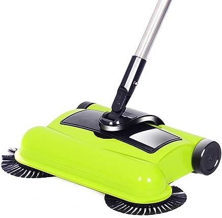 Tengxiang Spin Mop Barredora automática Manual Manual de Mano de aspiradora de Mano. Trapeadores (Color : Green)