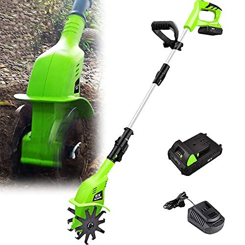 Auto parts Elektro Bodenhacke für effektive Bodenbearbeitung – 800 Watt – elektrische Gartenfräse – Gartenhacke – Kultivator – zum umgraben und lockern vom Boden für perfekte Pflanzen