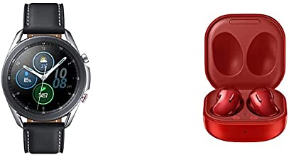 Sponsored Ad - Samsung Galaxy Watch 3 (45mm, GPS, Bluetooth, Unlocked LTE) Smart Watch - Mystic Silver with Samsung Electr...