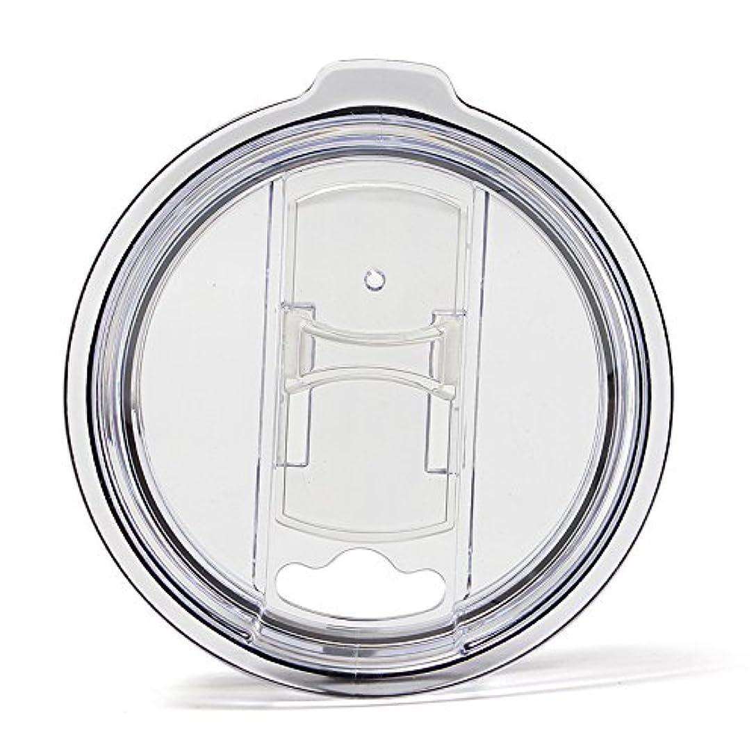 謝罪副従者Tumbler Replacement Lid- Spill Proof 100% Splash Resistant MAXX Impact Vacume Lid With Slider Closure- 1pcs For Yeti Rtic Ozark Tumbler