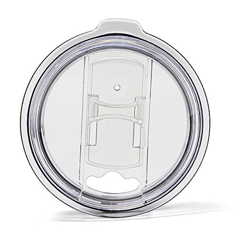 晴れジョージスティーブンソン石のTumbler Replacement Lid- Spill Proof 100% Splash Resistant MAXX Impact Vacume Lid With Slider Closure- 1pcs For Yeti Rtic Ozark Tumbler