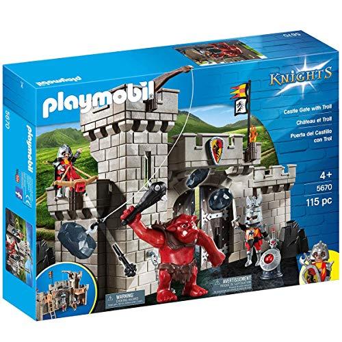 Playmobil® Knights 5670 - Burgtor mit Riesentroll