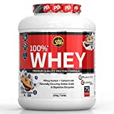 All Stars 100% Whey, Blueberry Muffin, 2270 g