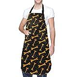 Delantal de cocina para mujer con diseño de cocinero y horneado personalizado para regalo para mamá