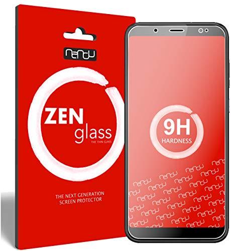 ZenGlass Flexible Glas-Folie kompatibel mit HTC U12 Life Panzerfolie I Bildschirm-Schutzfolie 9H I (Kleiner Als Das Gewölbte Bildschirm)