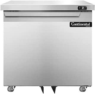 Continental Refrigerator SWF32-U Single Section Undercounter Freezer 32