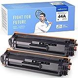 Mycartridge 2 Pack Compatible HP 44A CF244A Cartucho de Tóner Negro para HP Laserjet Pro M15a M15w M17a M17w MFP M28a MFP M28w MFP M30a MFP M30w Impresora