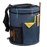 SumDirect Knitting Bag, Yarn Organizer Tote Bag...