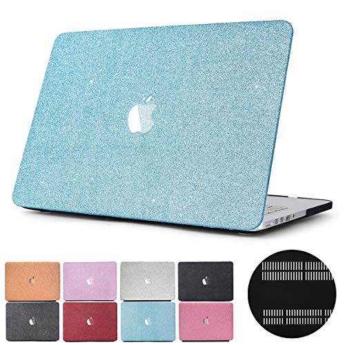 Learn More About 2016/2017/2018 Release MacBook Pro 15 inch Case, PapyHall Glitter Dull Polish Plast...