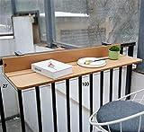 Tavolo ripiano da appendere alla ringhiera del balcone