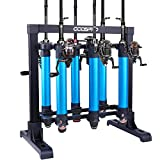 ODDSPRO Portable Fishing Rod Rack, Metal Aluminum Alloy Fishing Rod Holder for All Type Fishing Pole and...