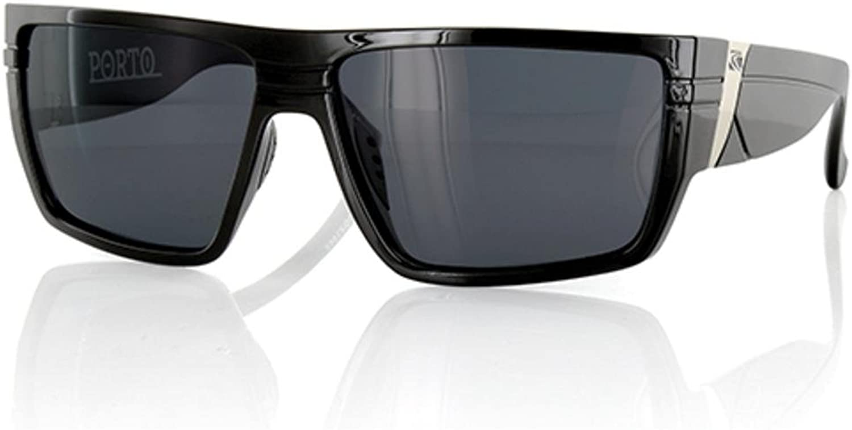 Carve Porto Sunglasses Unisex Black Polarized