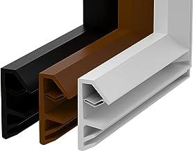 Afdichtingshoek voor ramen, 4 mm groefbreedte / 12 mm vouwbreedte van TPE-hoek voor houten raamafdichting, hoeken lijst vl...