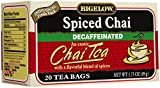 Bigelow Decaf Spiced Chai Tea Bags, 20 ct