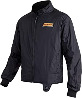 Hotwired Evo 12V Heated Temp Control Cold Weather Thermal Mid Layer Winter Street Bike Motorcycle Jacket Liner - Black XL