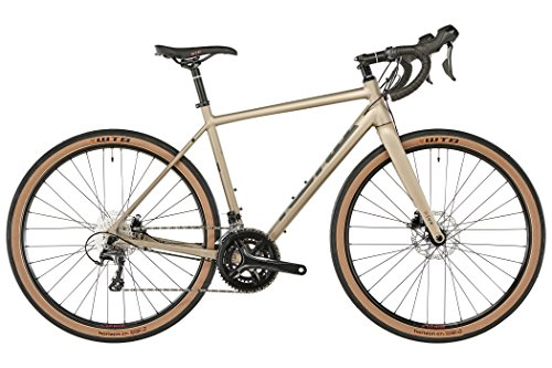 Kona Rove nrb DL Cadre Sable/Charcoal Red Mat Hauteur 52cm 2018cyclocrosser