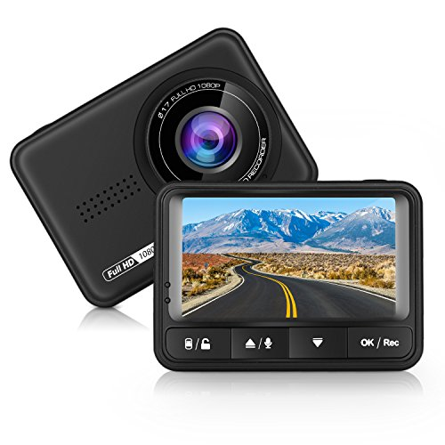 Panlelo D4 Auto Dash Cam Full HD 170 Graden Breed Hoek Dashboard Camera Recorder Auto DVR met G-Sensor en Loop Opname