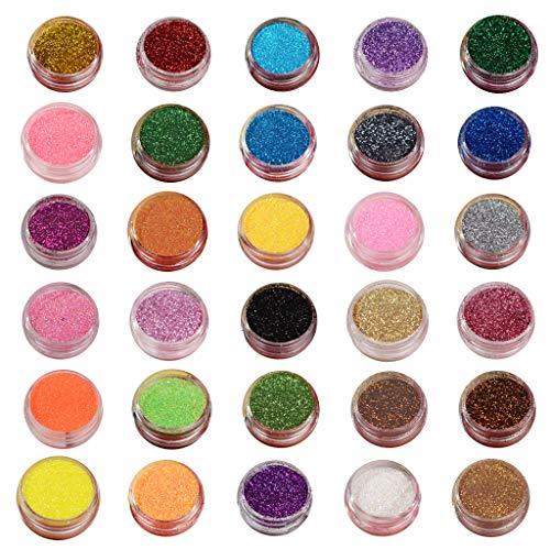Viesky Bright Crystal Epoxy Nagel Sieraden DIY Glitter Poeder Quick Sand Filler