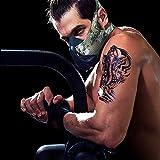 FDBRO Máscaras máscaras de Deportes, Estilo Negro, máscara;scara para Entrenamiento y acondicionamiento de Gran altitud, máscara scara Deportiva 2.0 (Bosque Camo, Medium(70kg-100kg))