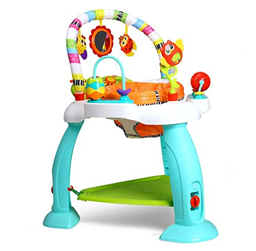 eastsun Baby Rainforest Learn Jumperoo Activity Jumper