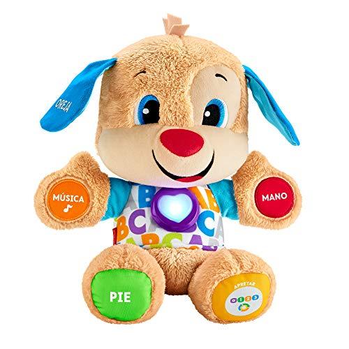 Fisher-Price Perrito primeros descubrimientos, juguete beb