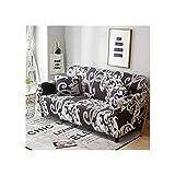 Lionel Philip Funda de sofá Beige Fundas de Muebles elásticas Fundas de sofá elásticas para Sala de Estar Fundas para sillones Fundas de sofá