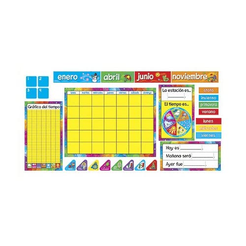 TREND enterprises, Inc. Calendario Anual (SP) Bulletin Board Set