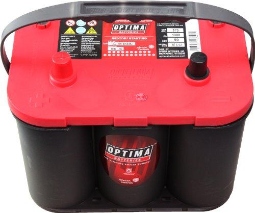 OPTIMA BATTERIES [ オプティマバッテリー ] 国産車バッテリー [ レッドトップ ] RedTop 120D26R