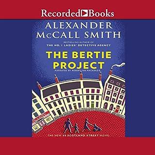 The Bertie Project audiobook cover art