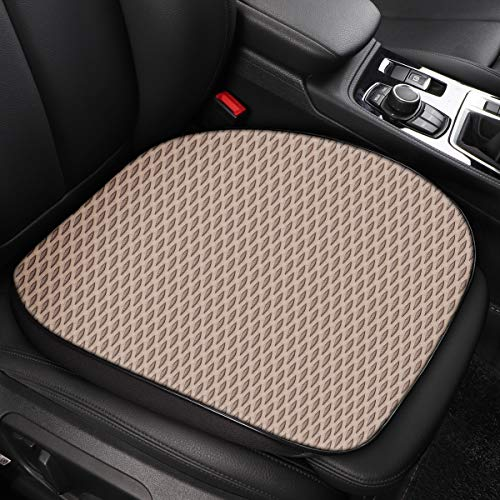 Eaglet Multi Use Enhanced Gel Seat Cushion for Support in Car, Office, Home, and Outdoor Activities, Breathable Sporty Multi Color Cushion, Warm Beige