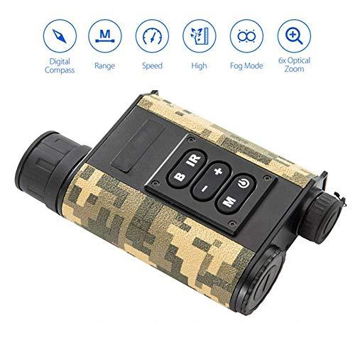 RSGK 6 × 32-Digitalteleskop, Outdoor-Camouflage-Laser-Infrarot-Nachtsichtgerät, geeignet zum Beobachten von Wildtieren, Angeln, Jagen usw. bei Nacht.
