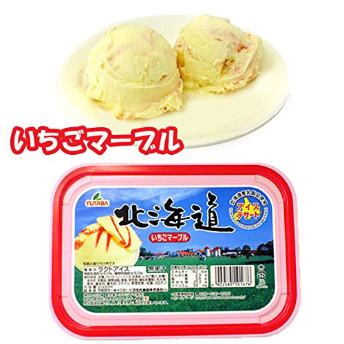 フタバ食品 北海道・いちごマーブル 2L×4入