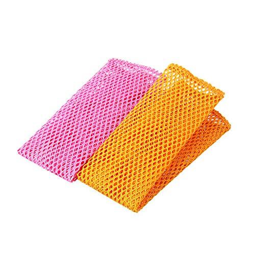 Geschirrwäsche-Netztücher, Antihaft-Öl-absorbierend, geruchsfrei, schnell trocknend, perfekter Schrubber zum Waschen von Geschirr, Topfplatte – keine Schwämme mehr mit Schimmelgeruch