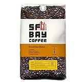 SF Bay Coffee Breakfast Blend Whole Bean 2LB (32 Ounce) Medium Roast