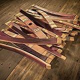 Full Set Wine Barrel Staves (25 Staves)