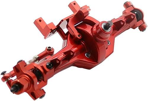 precios ultra bajos RCAWD Caja de Engranajes Delantera (con Engranajes de de de Teel) Ensamblaje Aleación de Aluminio 180210 para 1 10 HSP Rock Crawler 94180 RGT 18000 Himoto rojocat(rojo)  edición limitada
