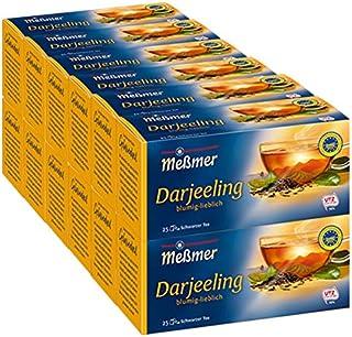 Meßmer Darjeeling 25 Teebeutel blumig lieblich - 12 Packungen