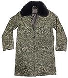 Levi's -Abrigo con Ribete DE Piel SINTÉTICA 56304-0001 -Abrigo Mujer (Talla S)