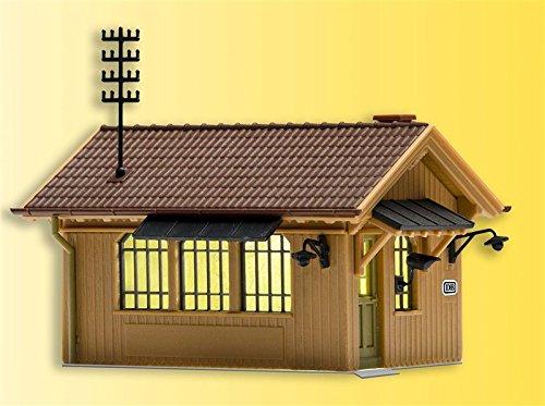 Kibri 39309 (49309) - Schrankenwärterhäuschen inkl. Hausbeleuchtung - H0
