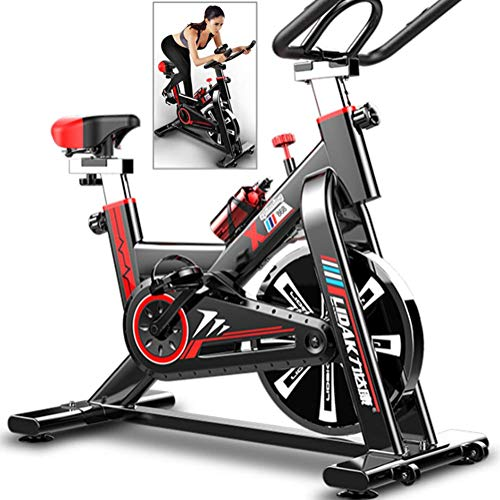 Best Price WOAIM Indoor Cycling Spinning Bike Home Fitness Equipment Adjustable Ultra-Quiet Exercise...