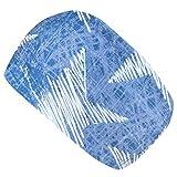Wollhuhn ko Jungen/Mdchen CHALK STARS Cooles Elastisches Stirnband Blau/Wei 20193093