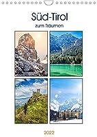 Sued-Tirol zum Traeumen (Wandkalender 2022 DIN A4 hoch): Ein Reiseerlebnis in eindrucksvollen Bildern (Monatskalender, 14 Seiten )