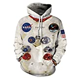 NONSAR 3D Graphic Printed Hoodies for Men,Women, Unisex Pullover Hooded Shirts