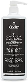 DBullón Gel Conductor para uso profesional (ultrasonidos electroterapiaetc). Alta eficacia. Gel de contacto - 1000 ml