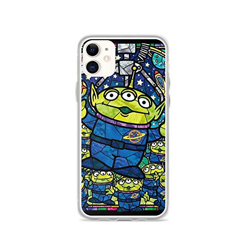 TEEMT Compatible with iPhone 11 Case Aliens Fanart Toys Friends Story American Sci-fi Animated Movie Pure Clear Phone Cases Cover