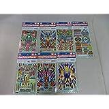ミニ4駆グレードアップパーツシリーズ ステッカーx7セット:1996・1997 TAMIYA