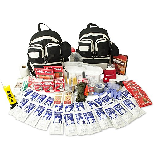 Emergency Zone 4 Person Urban Survival 72-Hour Bug Out/Go Bag   Perfect Way to Prepare Your Family   Be Ready for Disasters Like Hurricanes, Earthquake, Wildfire, Floods