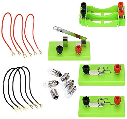 Physics Labs Circuit Learning Kit Basic elektriciteit Discovery Circuit Kit for Science Study, Series Circuit parallelschakeling voor de Kinderbescherming