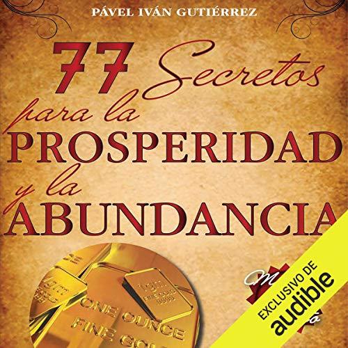 Diseño de la portada del título 77 secretos para la prosperidad y la abundancia